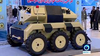 Iran's Armed Forces unveil drones, missiles
