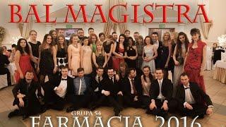 Bal Magisterski FARMACJA SUM 2016