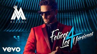 Maluma - Felices los 4 (Urban Version) (Official Audio)