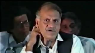 Mazahiya Shayari Anwar Masood Famous Urdu Punjabi Funny Poet from Pakistan Old Mushaira