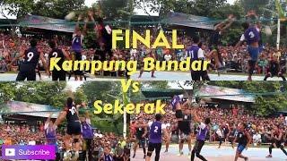 Final Volly Ball Kampung Bundar Vs Sekerak Aceh Tamiang 2017