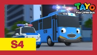 Tayo S4 #08 l Tayo becomes a police officer l Tayo the Little Bus l Season 4 Episode 8