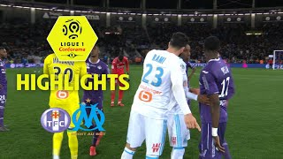 Toulouse FC - Olympique de Marseille (1-2) - Highlights - (TFC - OM) / 2017-18