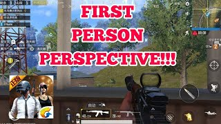 PUBG MOBILE | FIRST PERSON PERSPECTIVE GLITCH/BUG | LIGHTSPEED