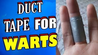 How To Remove Warts & Verruca's Using Duct Tape