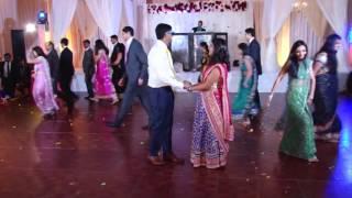 Tulsi & Shreemad Reception Dance - Bride's Side