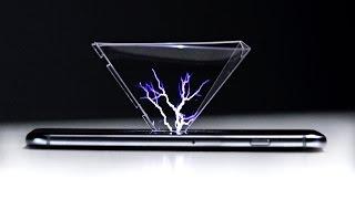 Amazing 3D Hologram Using Any Smartphone!
