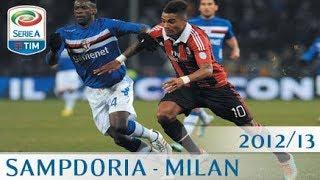 Sampdoria - Milan - Serie A 2012/13 - ENG