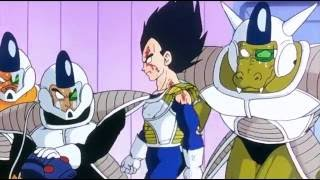 Vegeta Kills Frieza's Guards [DBZ Remastered]