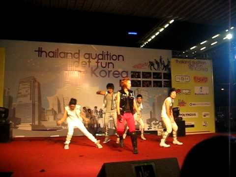 100822 SHINee Lucifer by Frenetic Thailand Audition Get Fun