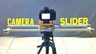Homemade Ultimate DIY Camera Slider full Tutorial