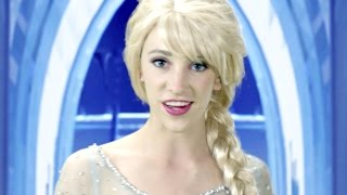 Disney Frozen Elsa Let it Go - In Real Life