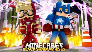 Minecraft Adventure - BLACK SHADOW CAPTURES THE MINEVENGERS