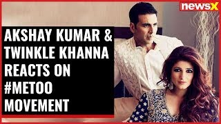 Entertainment News: Akshay Kumar & Twinkle Khanna reacts on #MeToo movement; Sajid Khan reacts