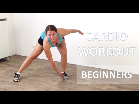 20 Minute Cardio Workout for Beginners – Low Impact Cardio Exercises – No Equipment