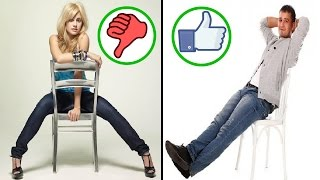 اعرف شخصيتك من طريقة جلوسك على الكرسي !