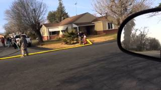 Firefighter fail (Owned by hose)