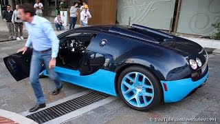 Bugatti Veyron Vitesse Owner getting mad at taxi driver