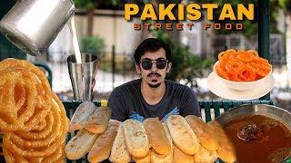 PAKISTAN STREET FOOD TOUR IN RAWALPINDI & ISLAMABAD WITH   BEEF NIHARI   ANDAY WALA BURGER.