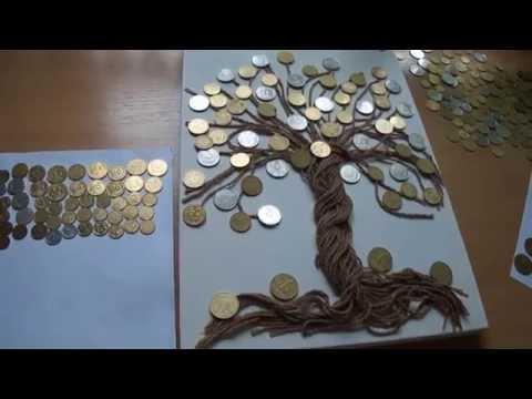 Как сделать денежное дереве