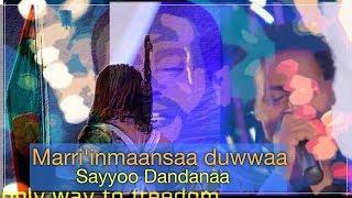Sayyoo Dandanaa:Mari'inmaansaa duwwaa ... New Oromo Music 2019