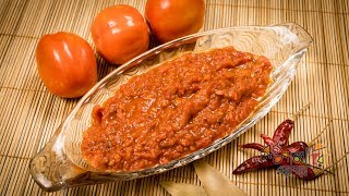 টমেটোর চাটনি | Bangla Tomato Chatni Recipe