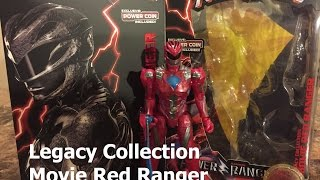 Power Rangers Legacy Collection: NYCC Movie Red Ranger - Captain Subpar's Toy Reviews