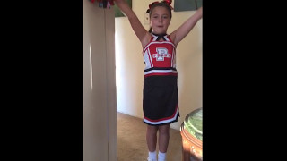 Danica G cheerleading