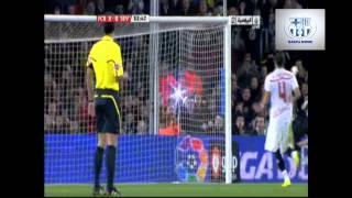 برشلونة 5-0 اشبيلية  - الليجا 10-11 بتعليق عصام الشوالي