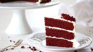 Red Velvet Cake Recipe | How to Make Red Velvet Cake with Cream Cheese Frosting