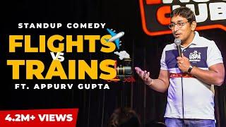 GuptaJi Ki Aeroplane Wali Journey - Stand Up Comedy by Appurv Gupta