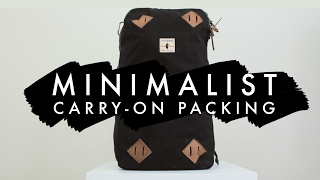 WHAT I'M TAKING TO BELIZE | Minimalist Packing For 12 Days