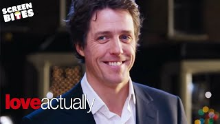 Love Actually | The Carol Singing Prime Minister | Hugh Grant