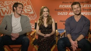 Ryan Guzman, Zoey Deutch and the Cast of 'Everybody Wants Some!!' Play Would You Rather