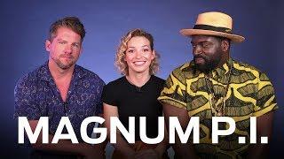 "Meet the cast of the new ""Magnum P.I."" reboot"