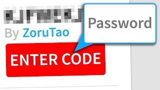 ROBLOX PASSWORD ONLY GAME (disturbing...)