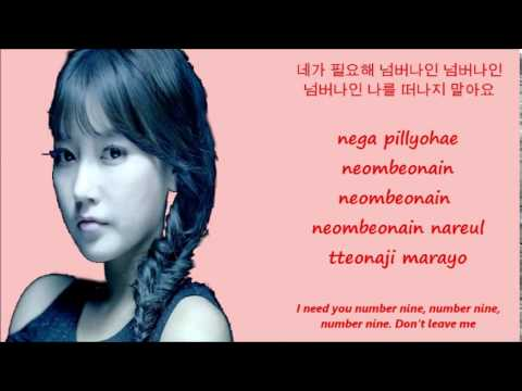 T-ara Number 9[Han+Rom+Eng Lyrics]