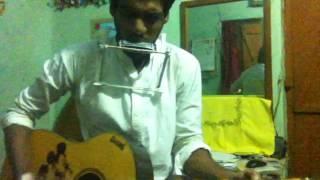 Neel Akasher Neechey(নীল আকাশের নীচে)-Harmonica Cover