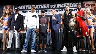 Mayweather vs. McGregor: Undercard Press Conference | Sat., Aug. 26 on SHOWTIME PPV