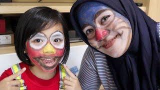 Liburan Seru-Seruan Bikin Face Painting Doraemon & Elmo
