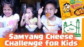 SAMYANG CHEESE CHALLENGE INDONESIA | TheRempongsHD
