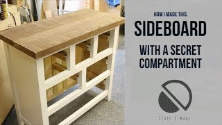 Sideboard with a Secret Compartment (2 of 2)