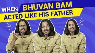 BB Ki Vines | When Bhuvan Bam Acted Like His Father | Safar - Music Video