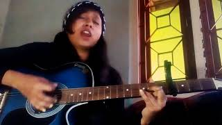 Mai phir bhi tumko chahunga (female version), guitar cover ,original by Arijit Sing, Half girlfriend