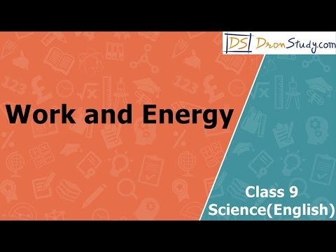 Xxx Mp4 Work And Energy CBSE Class 9 IX Science Video Lectures In English 3gp Sex