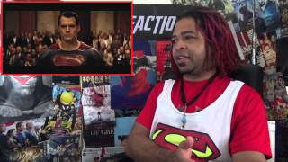 Batman v. Superman Trailer Reaction