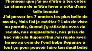 Soprano Ft Kenza Farah - Coup de Coeur LYRICS HD