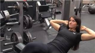 Weight Training : How to Do Sit-Ups on the Bench