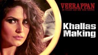KHALLAS Song Making - Veerappan | Hindi Movie 2016 | Zarine Khan | Shaarib & Toshi