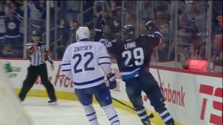 Patrik Laine | Hat Trick vs Maple Leafs | Oct 19 2016